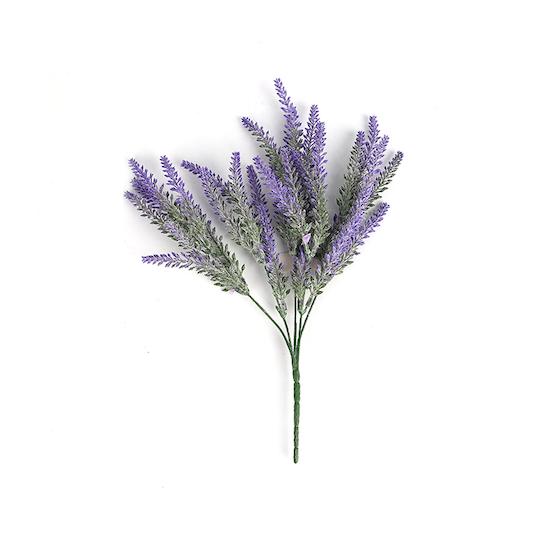 1688 - Faux Lavender Stem