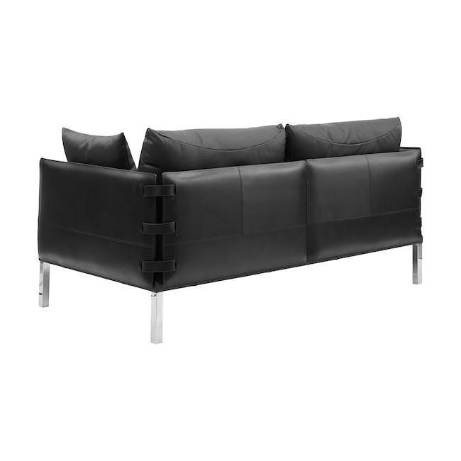 DS-333 3 Seater Sofa Replica - Black (Genuine Cowhide) - 2