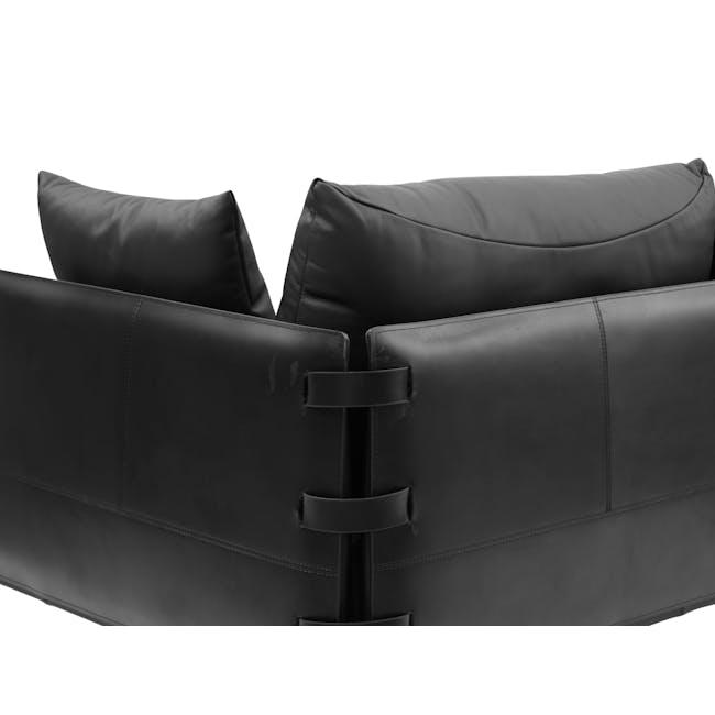 DS-333 3 Seater Sofa Replica - Black (Genuine Cowhide) - 4