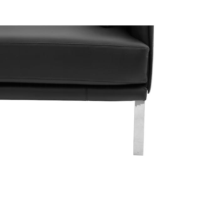 DS-333 3 Seater Sofa Replica - Black (Genuine Cowhide) - 5