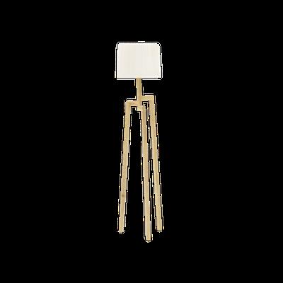 Maya Floor Lamp - Oak - Image 1