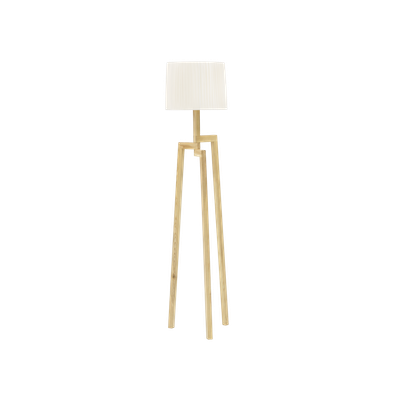 Maya Floor Lamp - Oak - Image 1