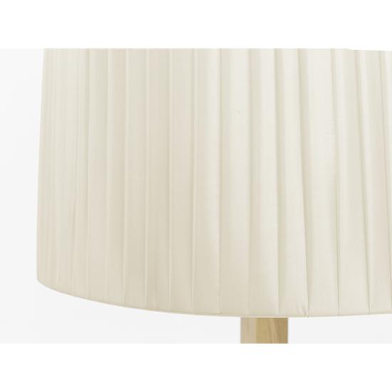 Springbud - Maya Floor Lamp - Oak, White