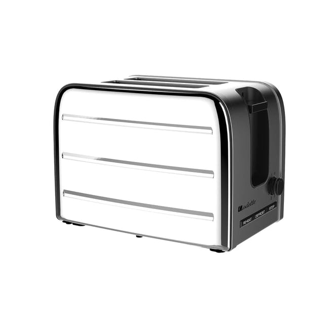 Odette Deauville 2-Slice Bread Toaster - Polished Stainless Steel - 0