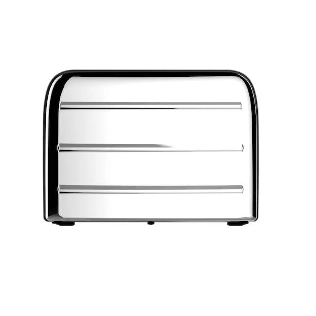 Odette Deauville 2-Slice Bread Toaster - Polished Stainless Steel - 1