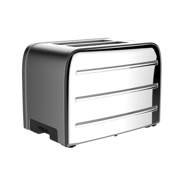 Odette Deauville 2-Slice Bread Toaster - Polished Stainless Steel - 2