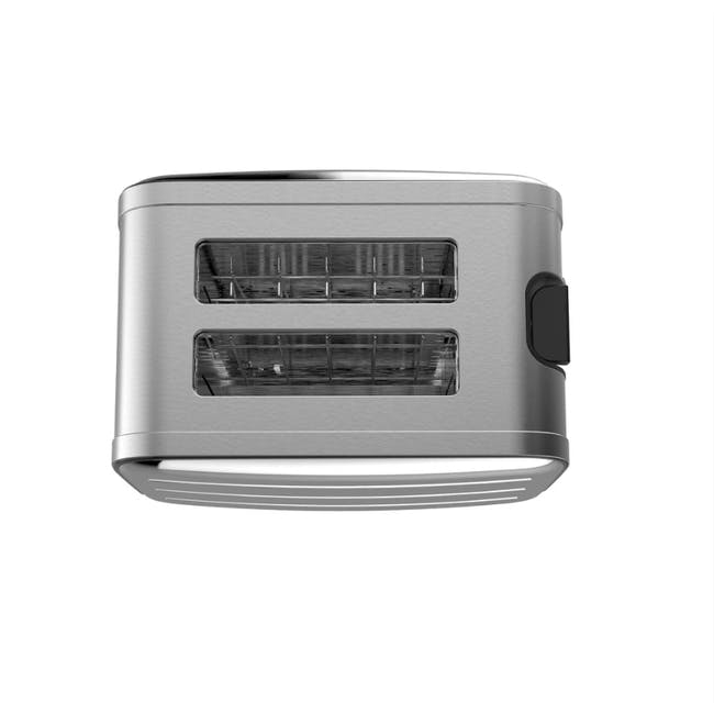 Odette Deauville 2-Slice Bread Toaster - Polished Stainless Steel - 4