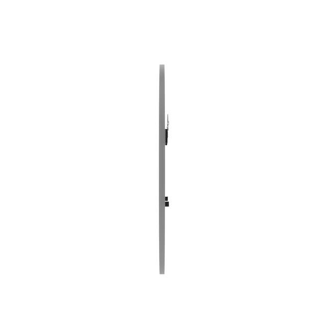 Hub Round Mirror 61 cm - Grey - 3