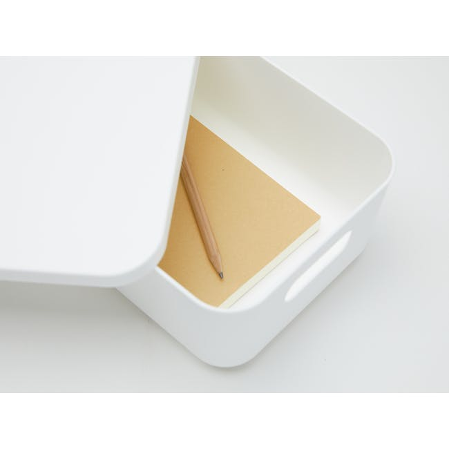 Lussa Storage Box with Lid - Small - 1