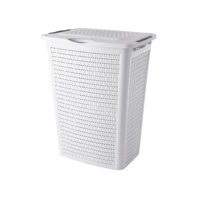 50L Laundry Hamper - Coffre White - Image 2