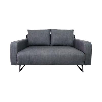 Aikin 2 5 Seater Sofa Bed Grey Image 1