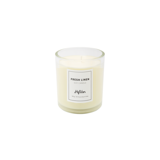 Wellness Fragrances - EVERYDAY Soy Candle - Fresh Linen