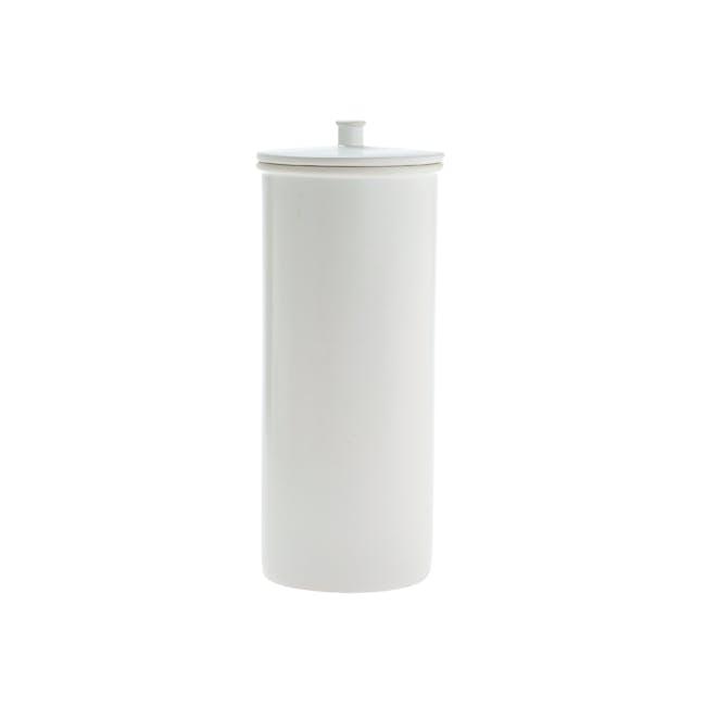 Marino Toilet Roll Holder - White - 0