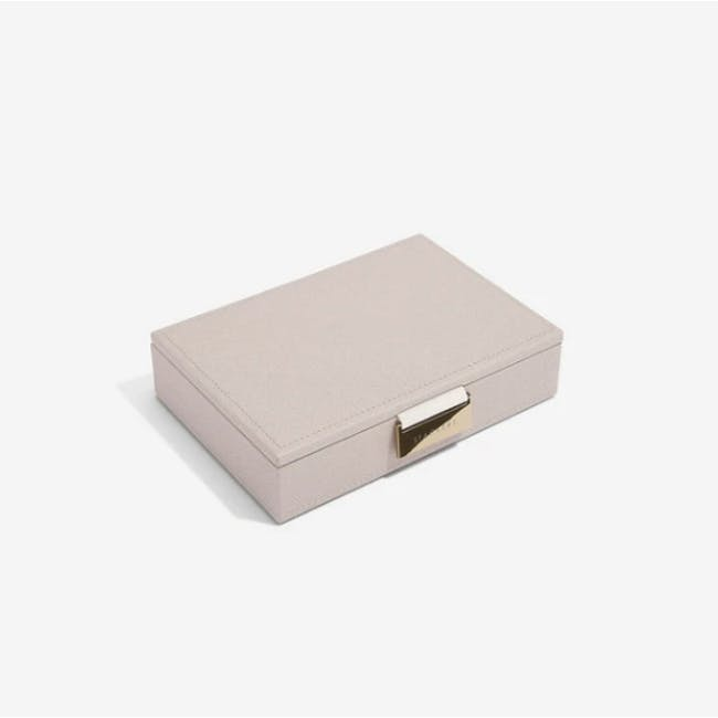 Stackers Mini Jewellery Box with Lid - Taupe - 1