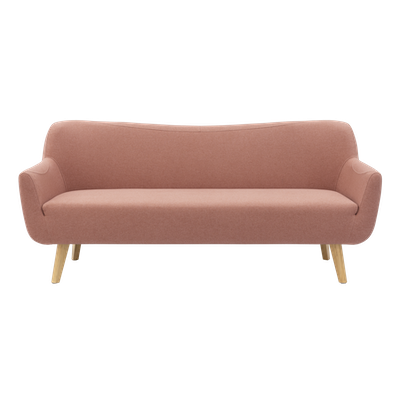 Clarus 3 Seater Sofa - Burnt Umber - Image 1