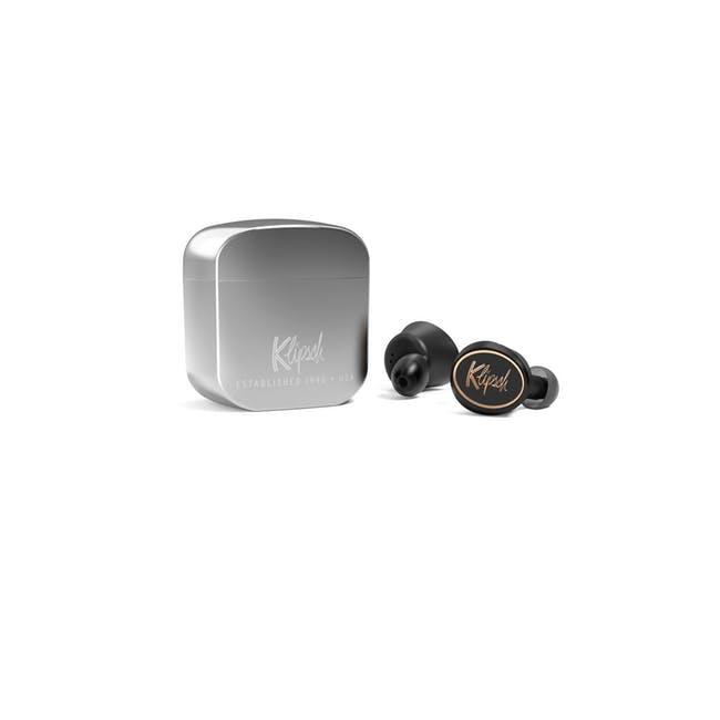 Klipsch T5 True Wireless Earbuds - Silver - 0