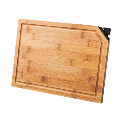 Lamart BAMBOO Cutting Board with Knife Sharpener - Image 1