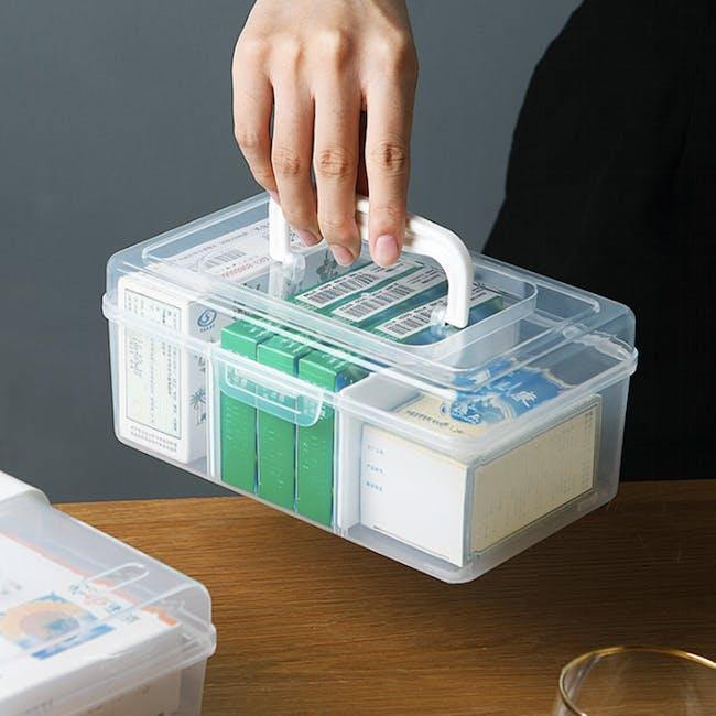 Dona Medicine Box with Compartments - 6