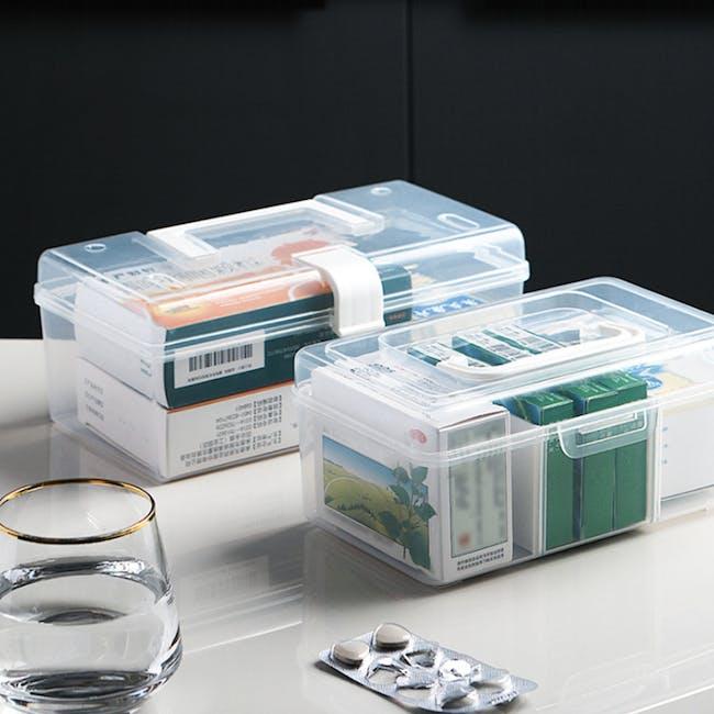 Dona Medicine Box with Compartments - 5
