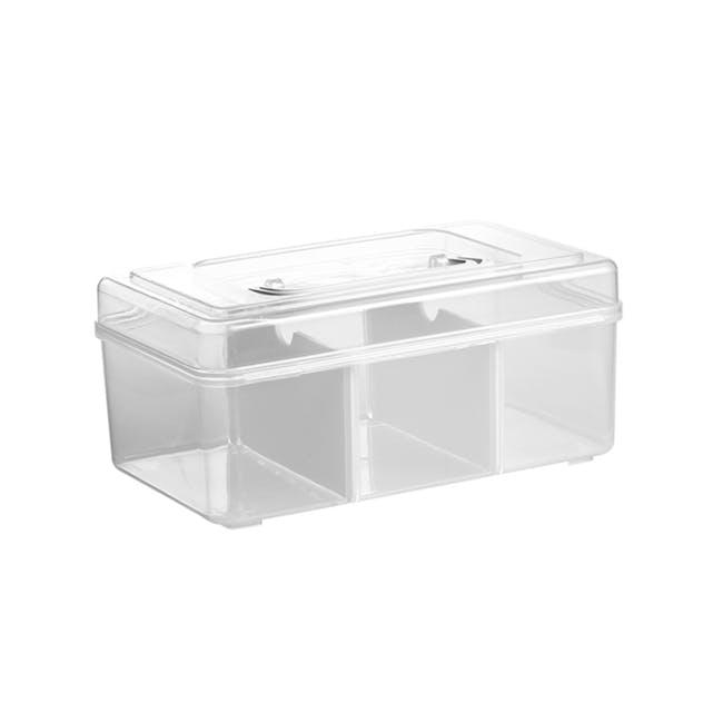 Dona Medicine Box with Compartments - 0