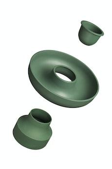 Hoop Serving Bowl - Olive