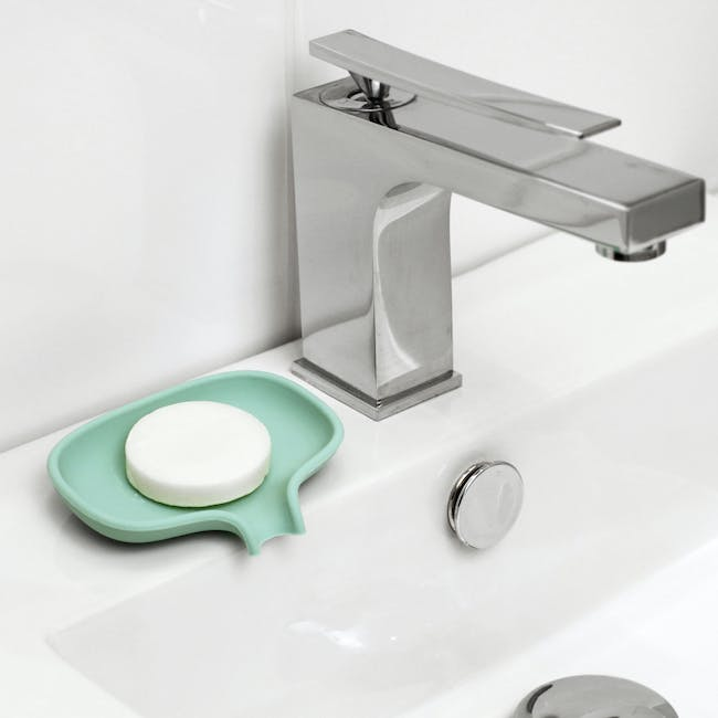 Bosign Soap Saver Flow Silicone - Mint (2 Sizes) - 1