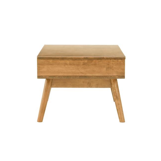 Lamar Twin Drawer Coffee Table - Oak - 2