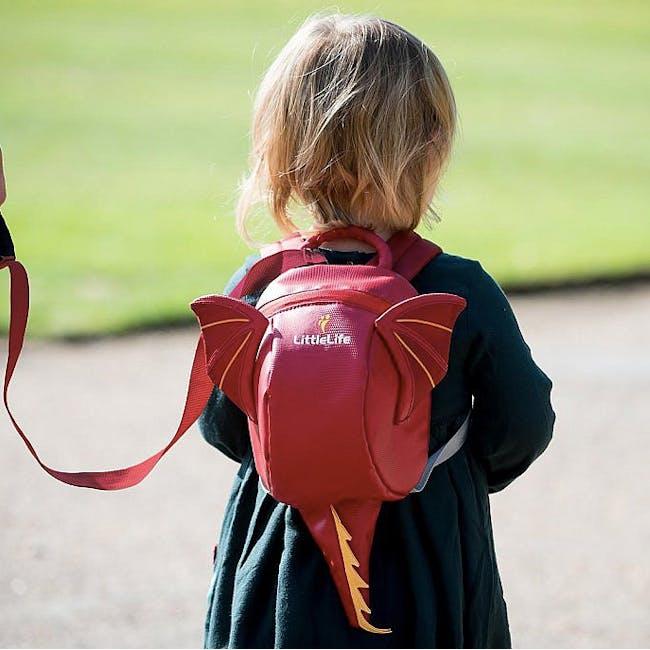 LittleLife Animal Toddler Backpack - Dragon - 2