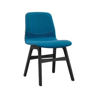 Bianca Dining Chair - Black, Teal - Image 1