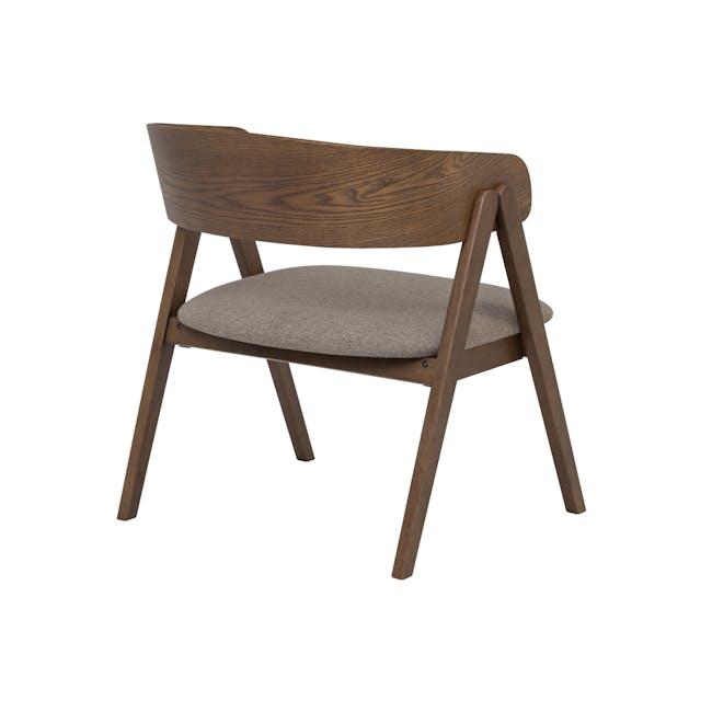 Melda Lounge Chair - Tan - 2