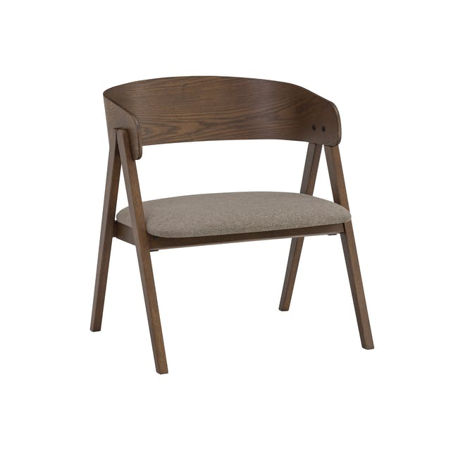 Melda Lounge Chair - Tan - 0