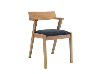 Imogen Dining Chair - Natural, Seal - Image 1