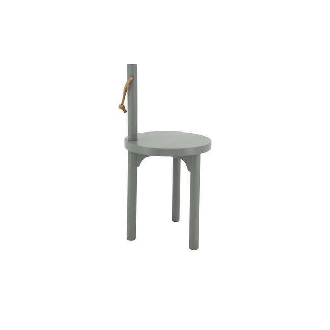 Idona Hanging Stool - Grey - 2