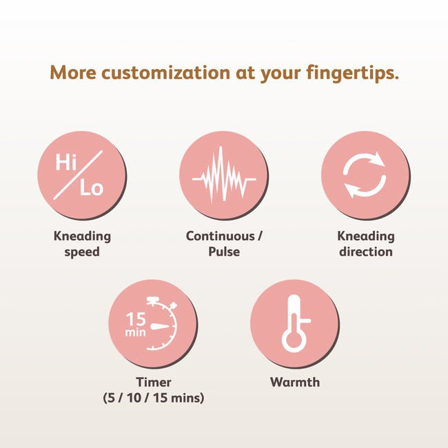 OSIM uMoby Smart Neck & Shoulders Massager - 6