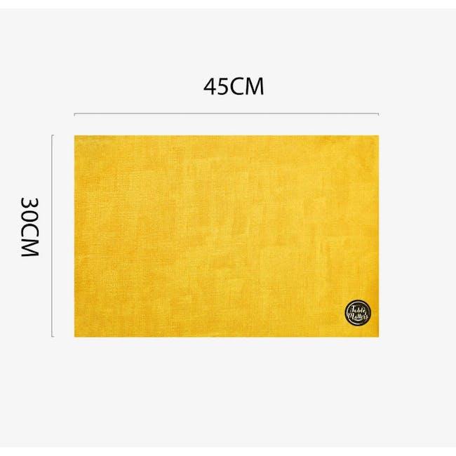 Patches Placement - Citrus (PVC) - 3