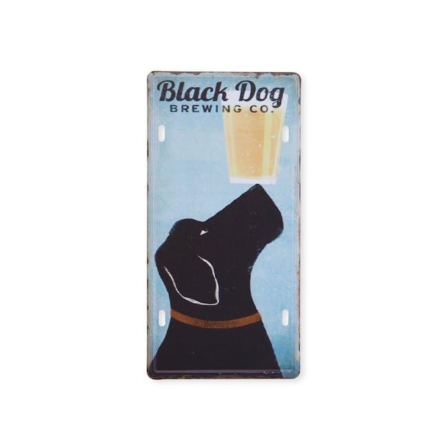 Tin Plate Wall Decor - Black Dog Brewing Co. - 0
