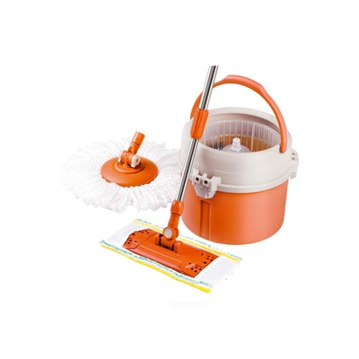 Lamart Tour Mop Set with Accessories 7L - Orange - Image 1