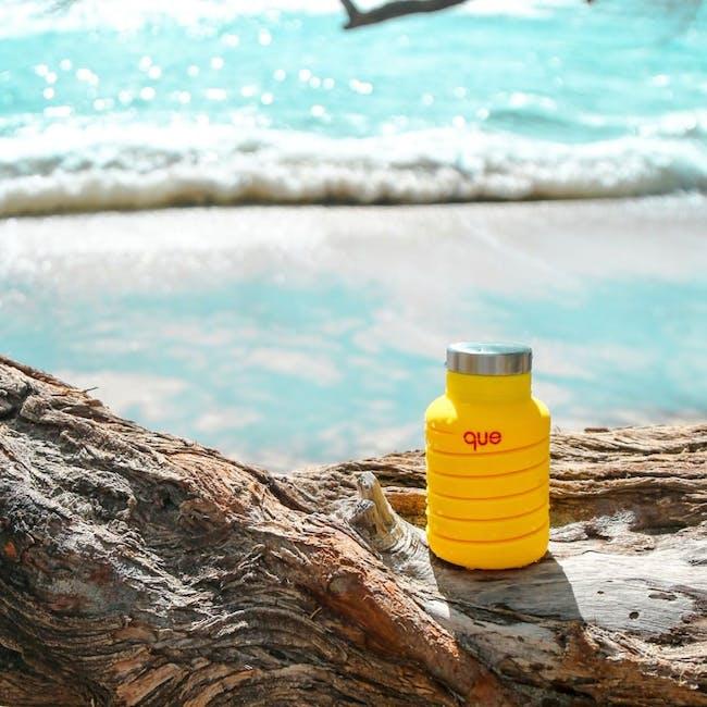 Que bottle - Yellow - 1