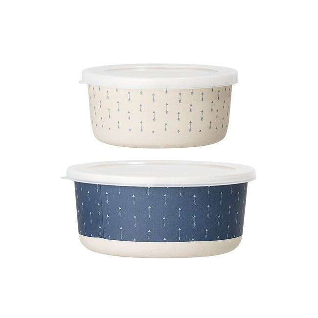 Carrie Tupperware - Blue (Set of 2) - 0