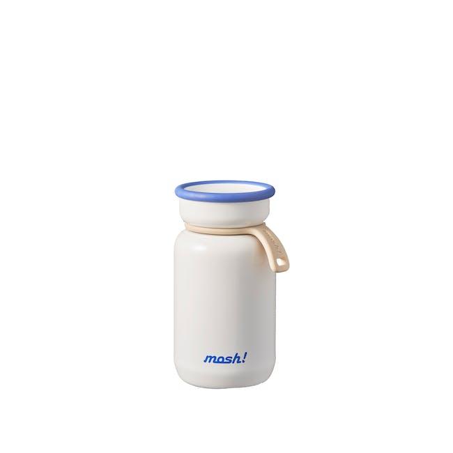 MOSH! Mini Latte Bottle 200ml - White - 0