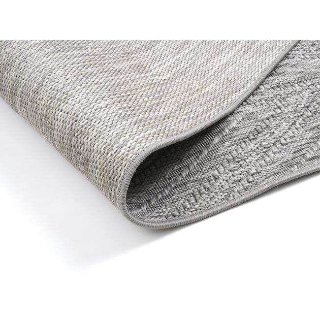 Timber Flatwoven Rug 2.9m x 2.0m - Grey Chevon - 4