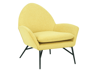 Esther Lounge Chair - Yellow