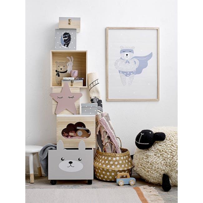 Willow Display Box - Bear and Rabbit (Set of 2) - 3