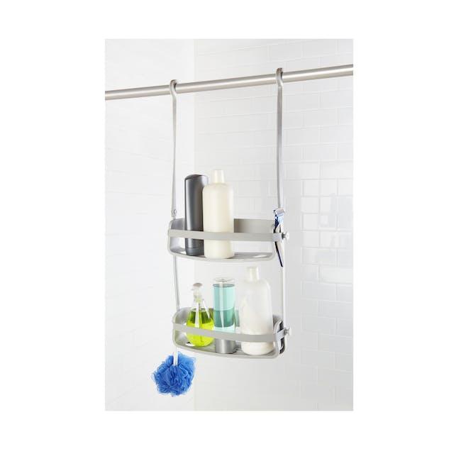 Flex Shower Caddy - Grey - 2