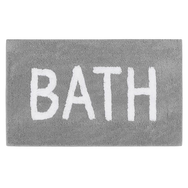 Sarah Floor Mat - Bath Grey - 0