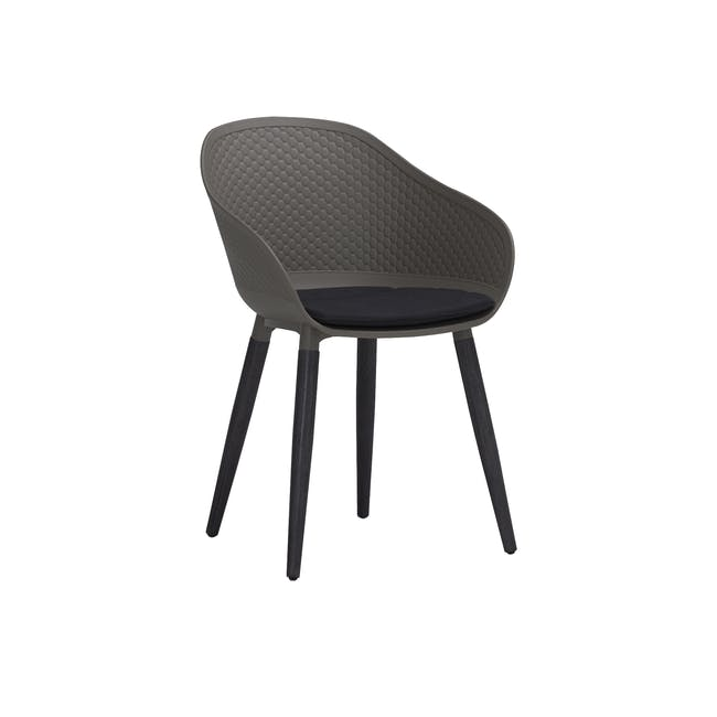 Cody Dining Armchair - Taupe - 0