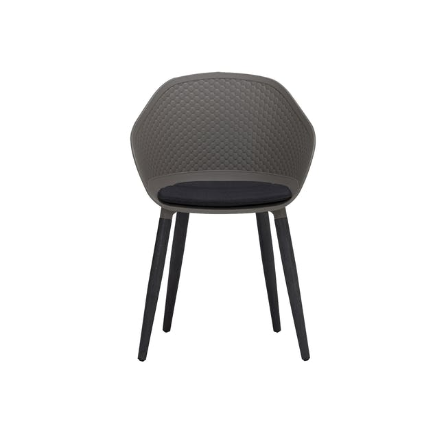 Cody Dining Armchair - Taupe - 3