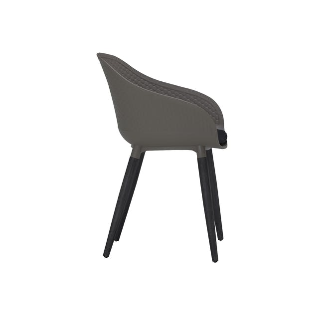 Cody Dining Armchair - Taupe - 4