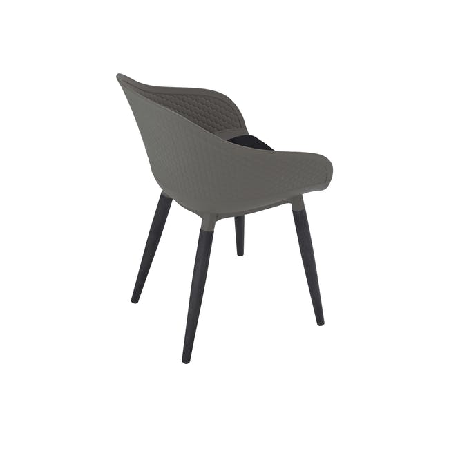 Cody Dining Armchair - Taupe - 5