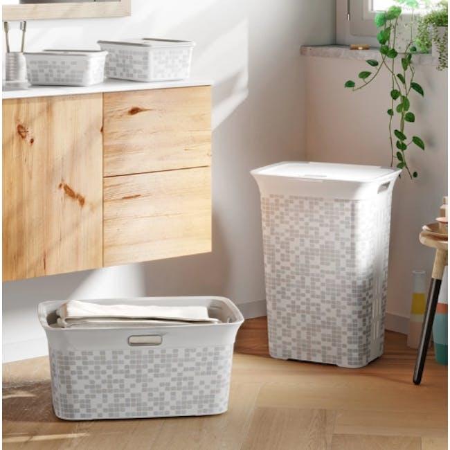 Chic Laundry Hamper 60L - Mosaic - 1